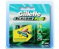 Картридж Gillette Slalom Plus Push Clean 3шт/уп